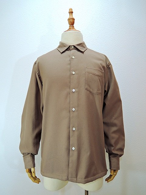 【modem design】REGULAR COLLAR SIDE POCKET SHIRT(M-1710751):メイン画像