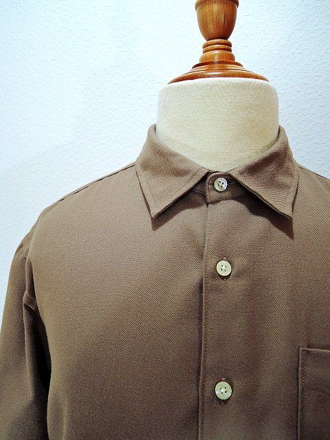 【modem design】REGULAR COLLAR SIDE POCKET SHIRT(M-1710751):画像3