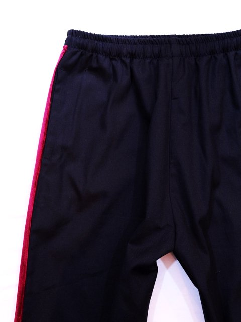 【modem design】VELOR SIDE LINE EASY PANTS(M-1710354)