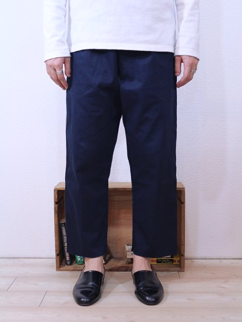 【modem design】VELOR SIDE LINE EASY PANTS(M-1710354):画像3