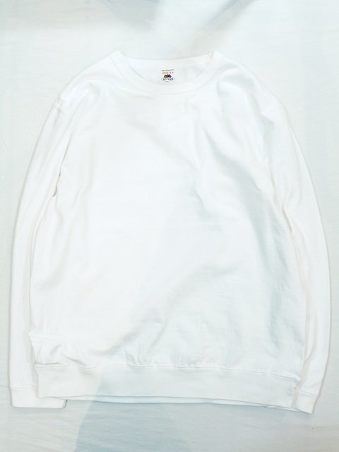 【FRUIT OF THE LOOM】SWEAT STYLE L/S TEE:メイン画像