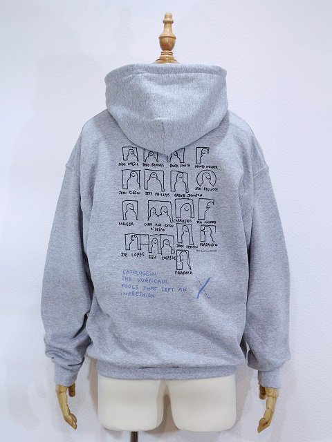 【MARK GONZALES】SWEAT PARKA:画像2