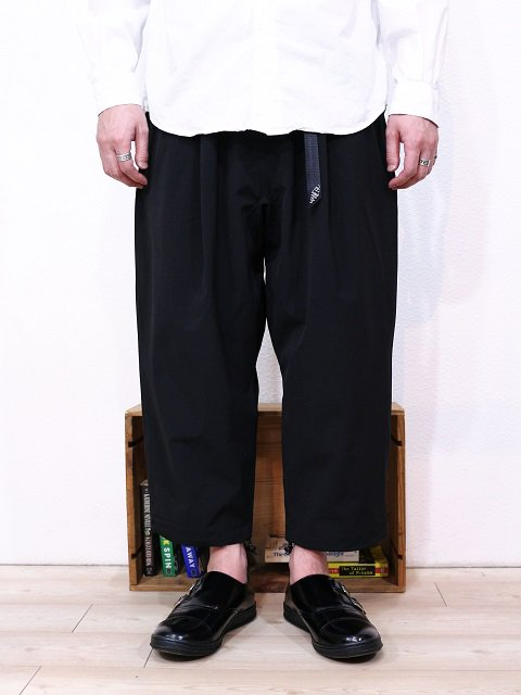 "【MANEBU】""LOOSE EASY TUCK SLACKS""PANTS:画像4"