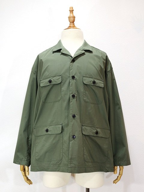 【MANUAL ALPHABET】SAFARI SHT JACKET:メイン画像