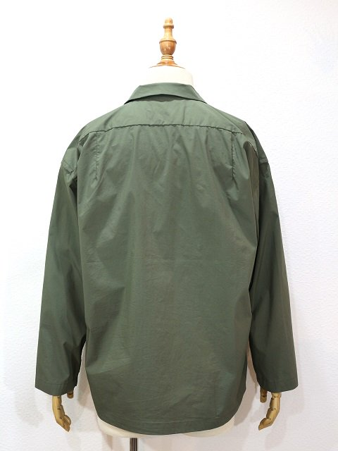【MANUAL ALPHABET】SAFARI SHT JACKET:画像2