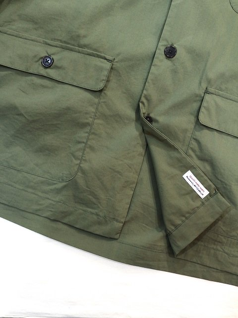 【MANUAL ALPHABET】SAFARI SHT JACKET:画像4
