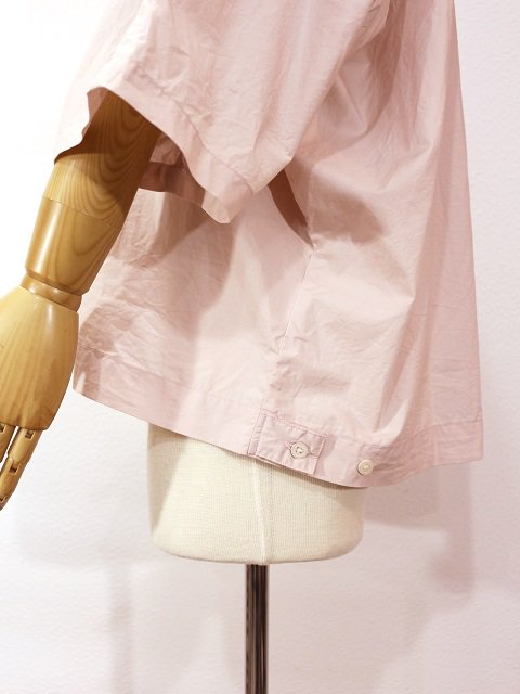 【H.UNIT STORE LABEL】Dolman open collar short sleeves shirt:画像3
