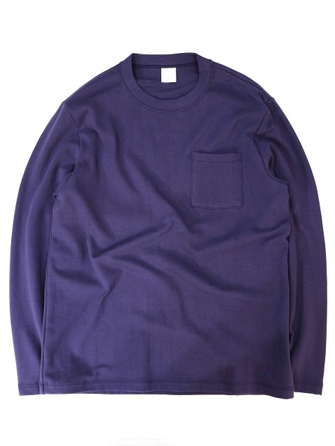【MANUAL ALPHABET】MILITARY FRAISE CREW NECK L/S TEE