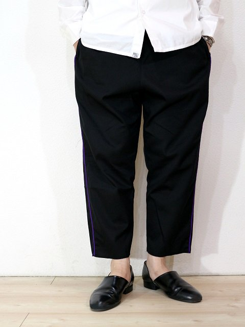【modem design】TAPE SIDE LINE EASY PANTS(M-1803353):画像3