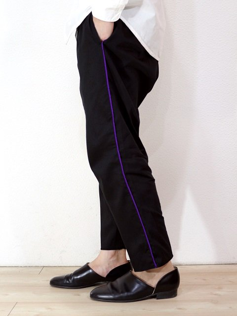 【modem design】TAPE SIDE LINE EASY PANTS(M-1803353):画像4