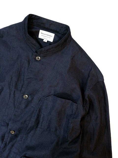 【MANUAL ALPHABET】CORDUROY WORK SHT JKT:画像3