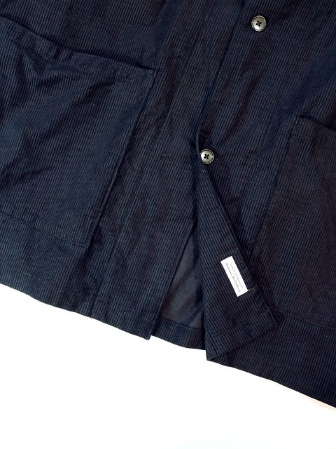 【MANUAL ALPHABET】CORDUROY WORK SHT JKT:画像4