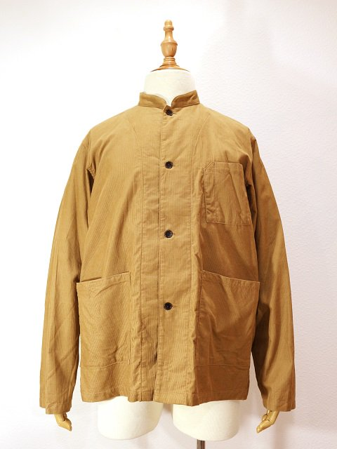 【MANUAL ALPHABET】CORDUROY WORK SHT JKT:メイン画像