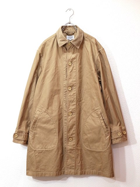 【MANUAL ALPHABET】O/D DRILL SHT COAT:画像1
