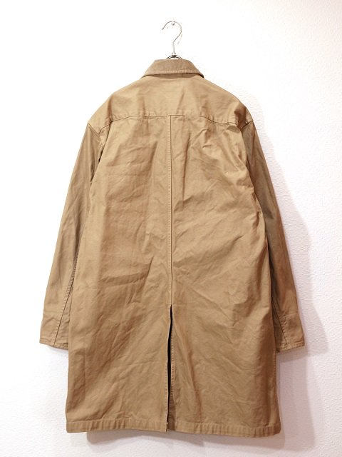 【MANUAL ALPHABET】O/D DRILL SHT COAT:画像2