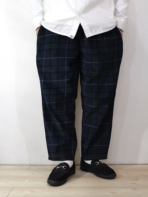【COOKMAN】Chef Pants Corduroy Tartan:画像3