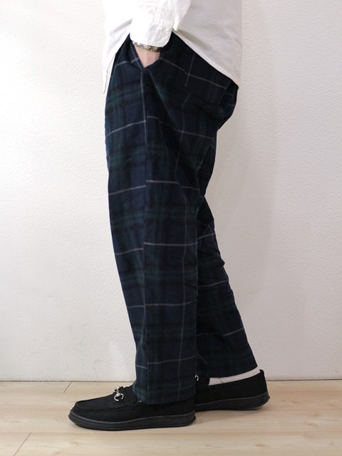 【COOKMAN】Chef Pants Corduroy Tartan:画像4