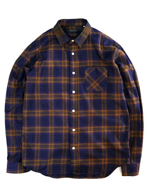 【modem design】TARTAN CHECK FLANNEL SHIRT(M-1807755):メイン画像