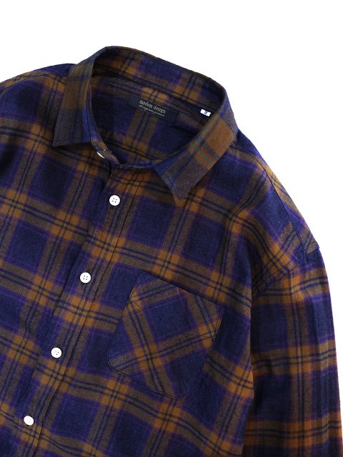 【modem design】TARTAN CHECK FLANNEL SHIRT(M-1807755):画像2