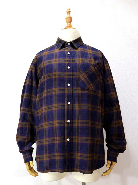 【modem design】TARTAN CHECK FLANNEL SHIRT(M-1807755):画像4