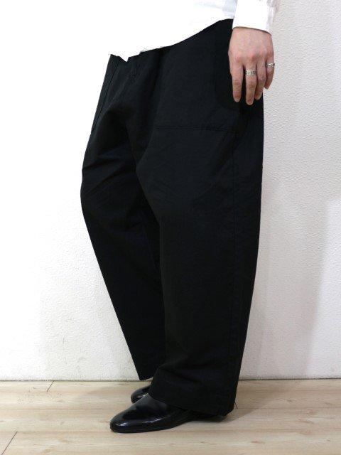 【KAFIKA】FLANDERS LINEN DECK PANTS:画像4