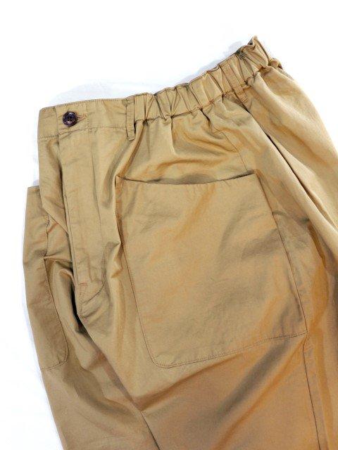 【KAFIKA】FLANDERS LINEN DECK PANTS:画像2