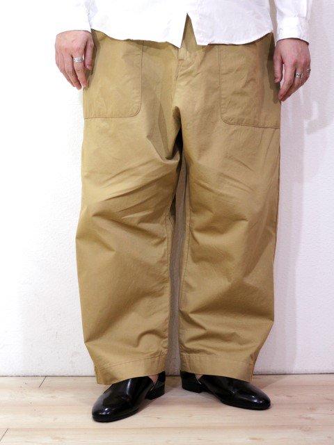 【KAFIKA】FLANDERS LINEN DECK PANTS:画像3