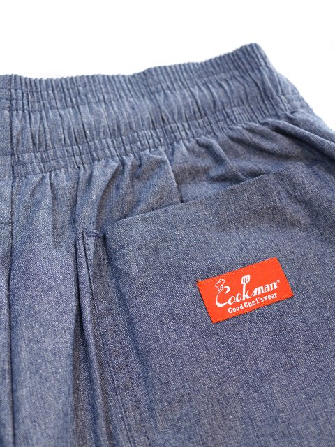 【COOKMAN】Chef Pants Chambray:画像4