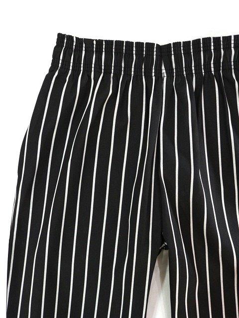 【COOKMAN】Chef Pants Stripe:メイン画像