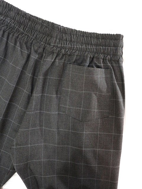 【modem design】WINDOWPEN CHECK EASY PANTS(M-1903361):画像2