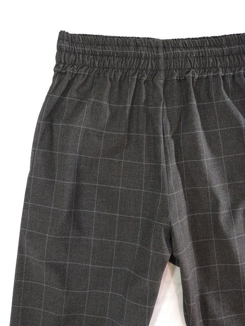 【modem design】WINDOWPEN CHECK EASY PANTS(M-1903361)