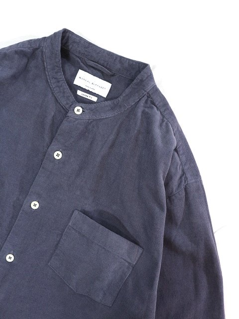 【MANUAL ALPHABET】CORDUROY LOOSE FIT B/C SHT:画像2