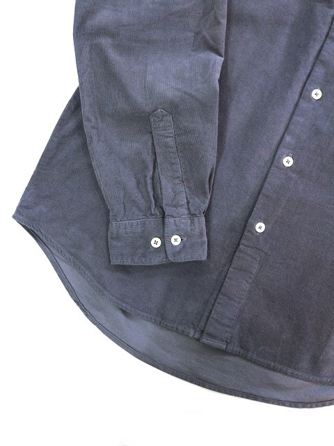 【MANUAL ALPHABET】CORDUROY LOOSE FIT B/C SHT:画像3