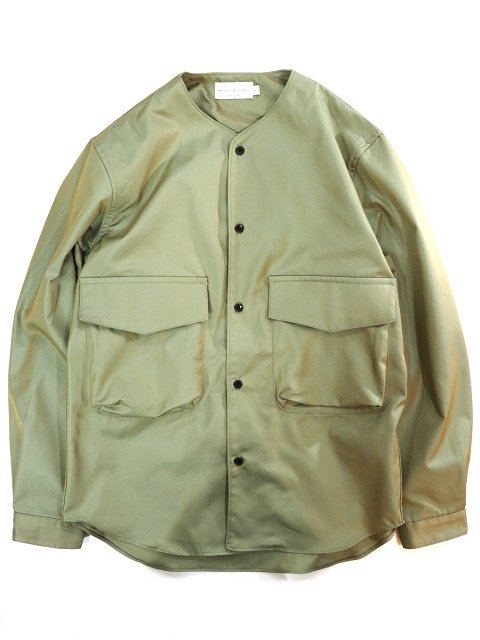 【MANUAL ALPHABET】GABARDINE CARGO SHT:メイン画像