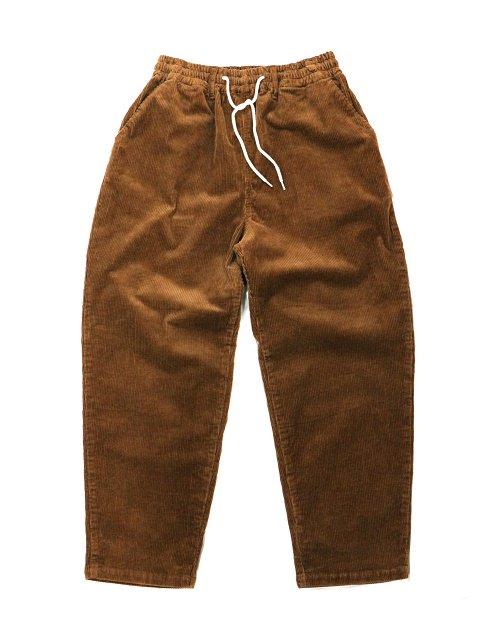 【H.UNIT】8w corduroy easy cock pants:メイン画像