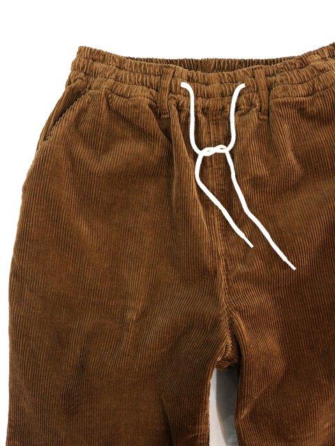 【H.UNIT】8w corduroy easy cock pants:画像2