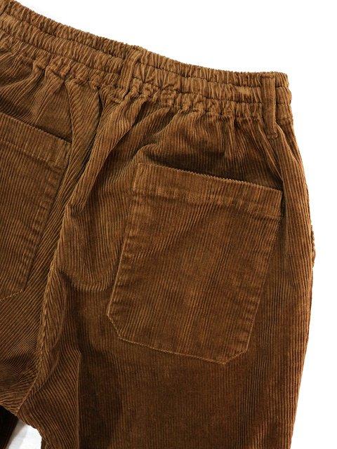【H.UNIT】8w corduroy easy cock pants:画像3