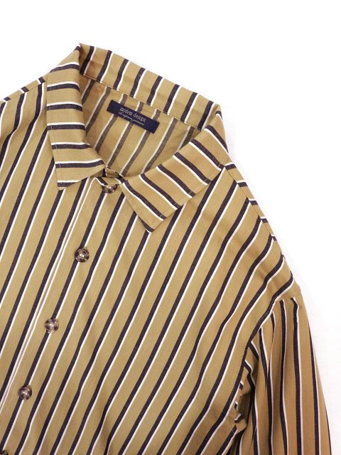 【modem design】RETRO STRIPED POCKET SHIRT(M-1910851):画像2