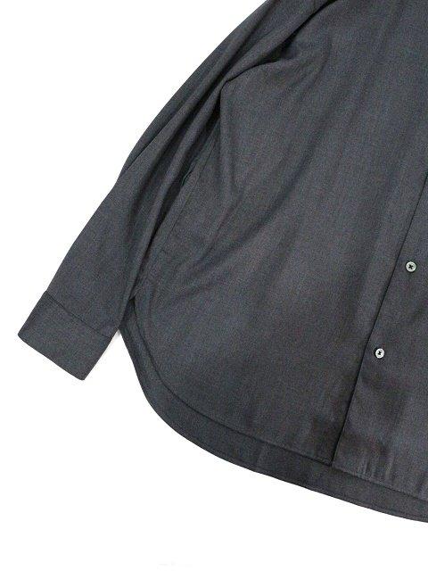 【SLICK】T/R Stretch Twill Dropped Shoulders Shirt:画像3