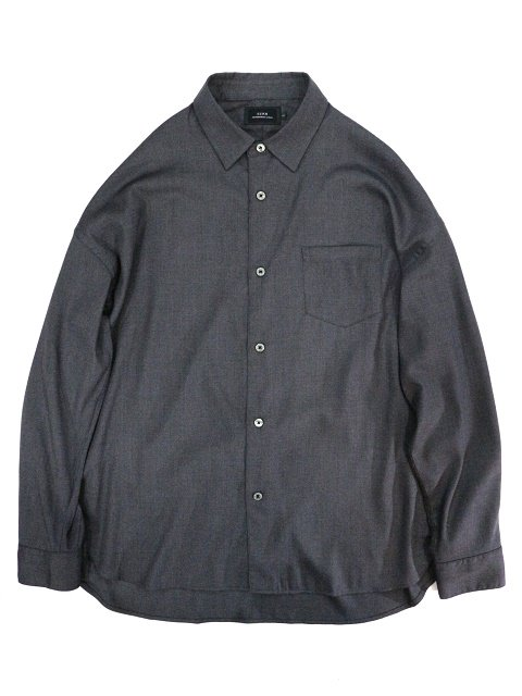 【SLICK】T/R Stretch Twill Dropped Shoulders Shirt