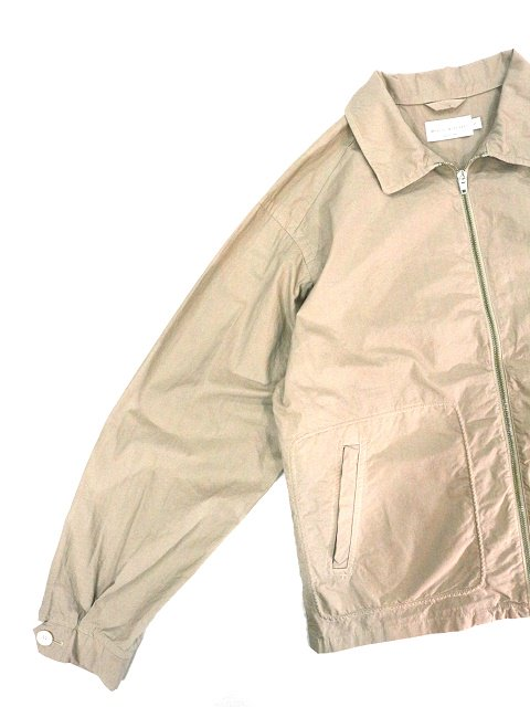 【MANUAL ALPHABET】OVERDYED DRIZZLER JACKET:画像3