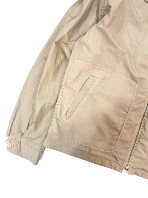 【MANUAL ALPHABET】OVERDYED DRIZZLER JACKET:画像4