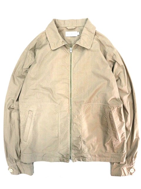 【MANUAL ALPHABET】OVERDYED DRIZZLER JACKET