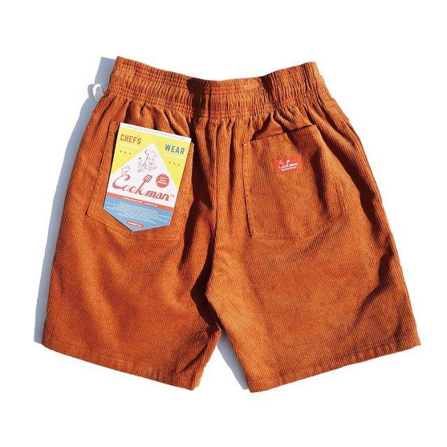 【COOKMAN】Chef Short Pants Corduroy:画像2
