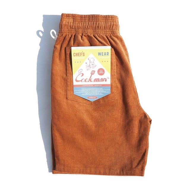 【COOKMAN】Chef Short Pants Corduroy:画像3