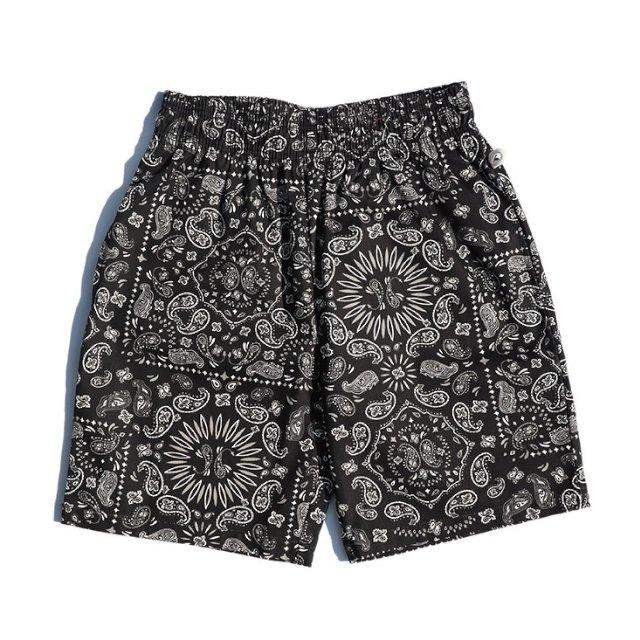 【COOKMAN】Chef Short Pants Paisley:メイン画像