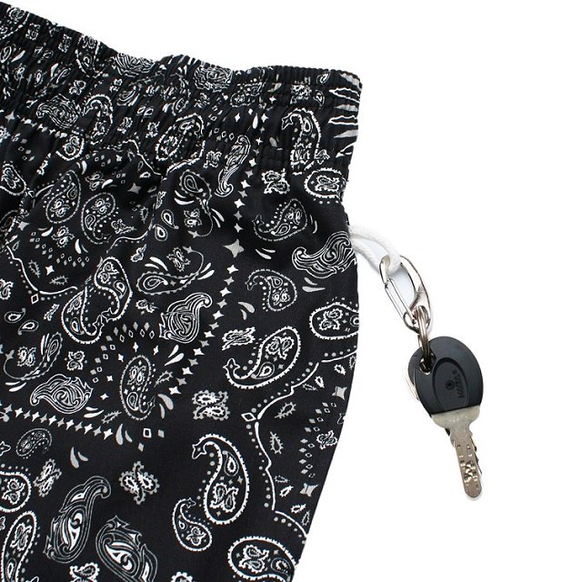 【COOKMAN】Chef Short Pants Paisley:画像4