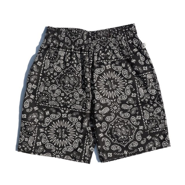 【COOKMAN】Chef Short Pants Paisley