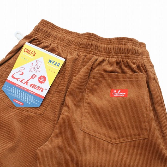 【COOKMAN】Chef Pants Corduroy:画像4