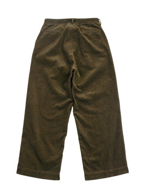 【H.UNIT】Corduroy crown size trousers:画像2